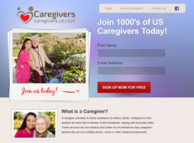 Caregivers for connects those who help and those who need in-home health care.
