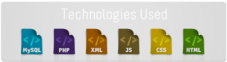 Web Technologies Used
