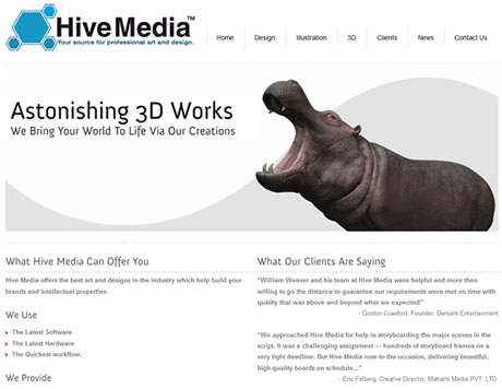 TrueHit Designs Client Website