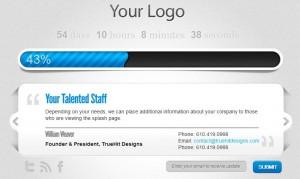 TrueHit Designs - Client Splash Page